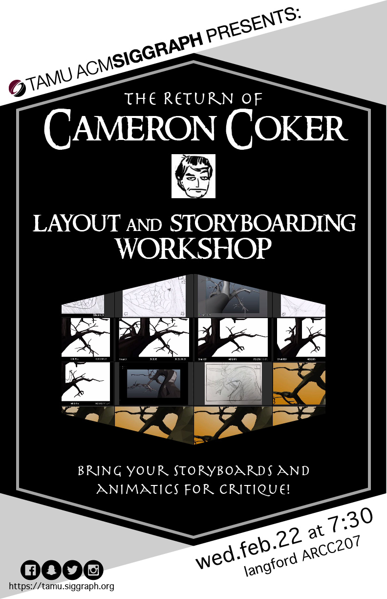 Layout and Storyboarding Workshop